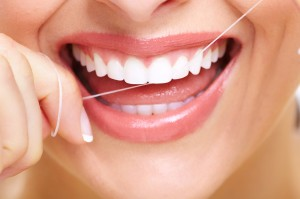 FLOSSING FOR HEALTH FROM THE OUTSIDE IN!