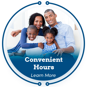 convenient hours learn more