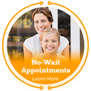 no wait times appointment learn more